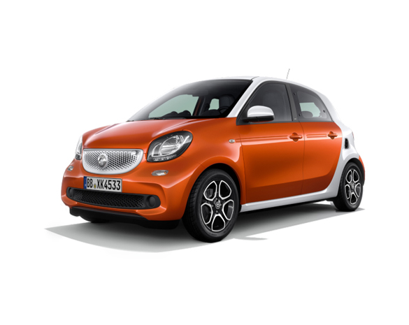 Smart ForFour 1000 – Gasolina
